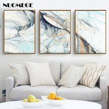Abstract Canvas Paintings Modern Simple Psychedelic Line Wall Art Poster and Prints Nordic Pictures for Living Room Home Decor