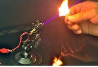 100mW 405nm Blue Laser Module 5V Input Lighting Matches For DIY