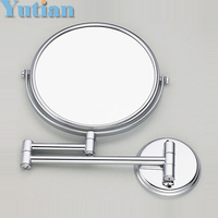 Free Shipping 8 Dual Makeup Mirrors 1 1 And 1 3 Magnifier Copper Cosmetic Bathroom Double