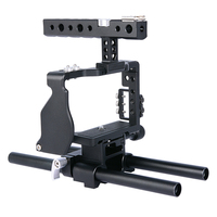Yelangu Camera Cage Handle For Sony A6000 A6300 A6500 With Aluminum Alloy Handheld Hand Grip