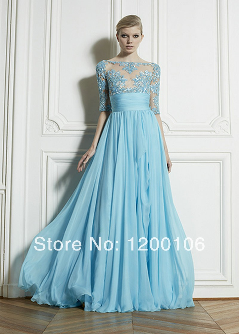 Compare Prices on Blue Prom Dresses 2014- Online Shopping/Buy Low ...