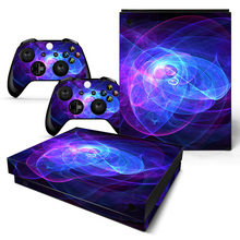 Galaxy Design Xbox One X Skin Sticker