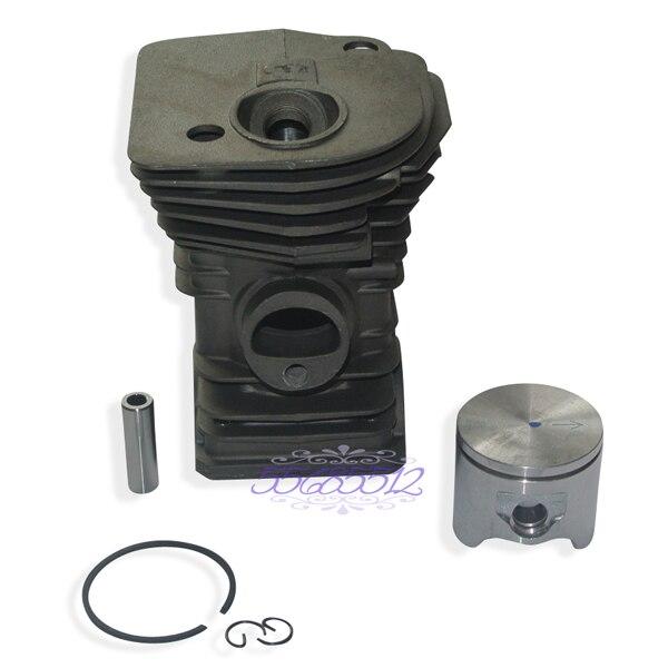 42mm Cylinder  amp  Piston W  Rings Kit Fits Husqvarna 340 345 Chainsaw 503 87 02 76