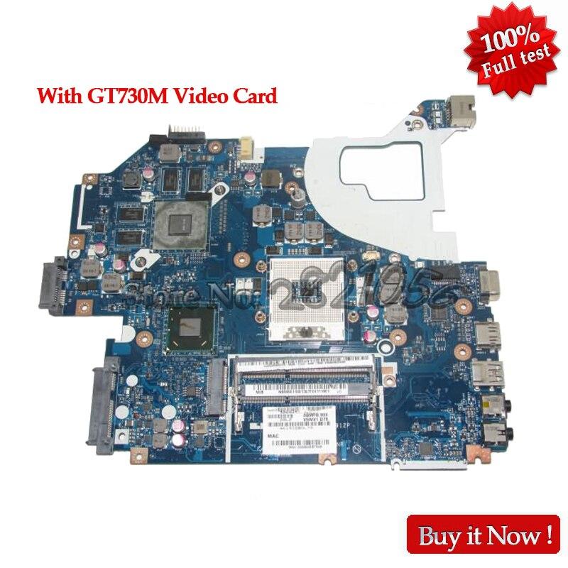 NOKOTTION NBM6A11001 NB. M6A11.001 Carte Principale Pour Acer aspire V3-571G Ordinateur Portable Carte Mère HM77 DDR3 LA-7912P GT730M Vidéo Carte