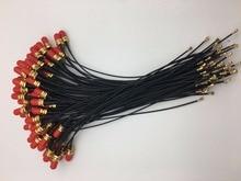50 sztuk/partia 15 cm U. FL Mini PCI do RP SMA Mini Pcie do SMA wtyk żeński interfejs antena WiFi kabel do MC8795V EC25 E itp.