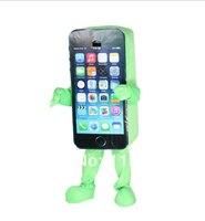 MASCOT Cell Phone 5C Mascot costume custom anime cosplay cartoon mascotte theme fancy dress costume
