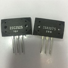 5 çift 2SA1075 ve 2SC2525 (A1075 ve C2525) silikon PNP Epitaksiyel Düzlemsel Transistör (2SA1075 5 adet + 2SC2525 5 adet)
