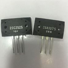 5 pares de 2SA1075 y 2SC2525 (A1075 y C2525) del PNP Epitaxial transistor planar (2SA1075 5 uds + 2SC2525 5 uds)