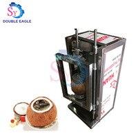 New Design cheap commercial electric coconut open cover machine/coconut plain top removing machine