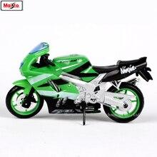 Maisto 1:18 Kawasaki ZX-9R original authorized simulation alloy motorcycle model toy car