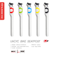 2016 Ullicyc Newest Mountain Bike 3K Full Carbon Fibre Bicycle Seatposts Road MTB Parts 27 2