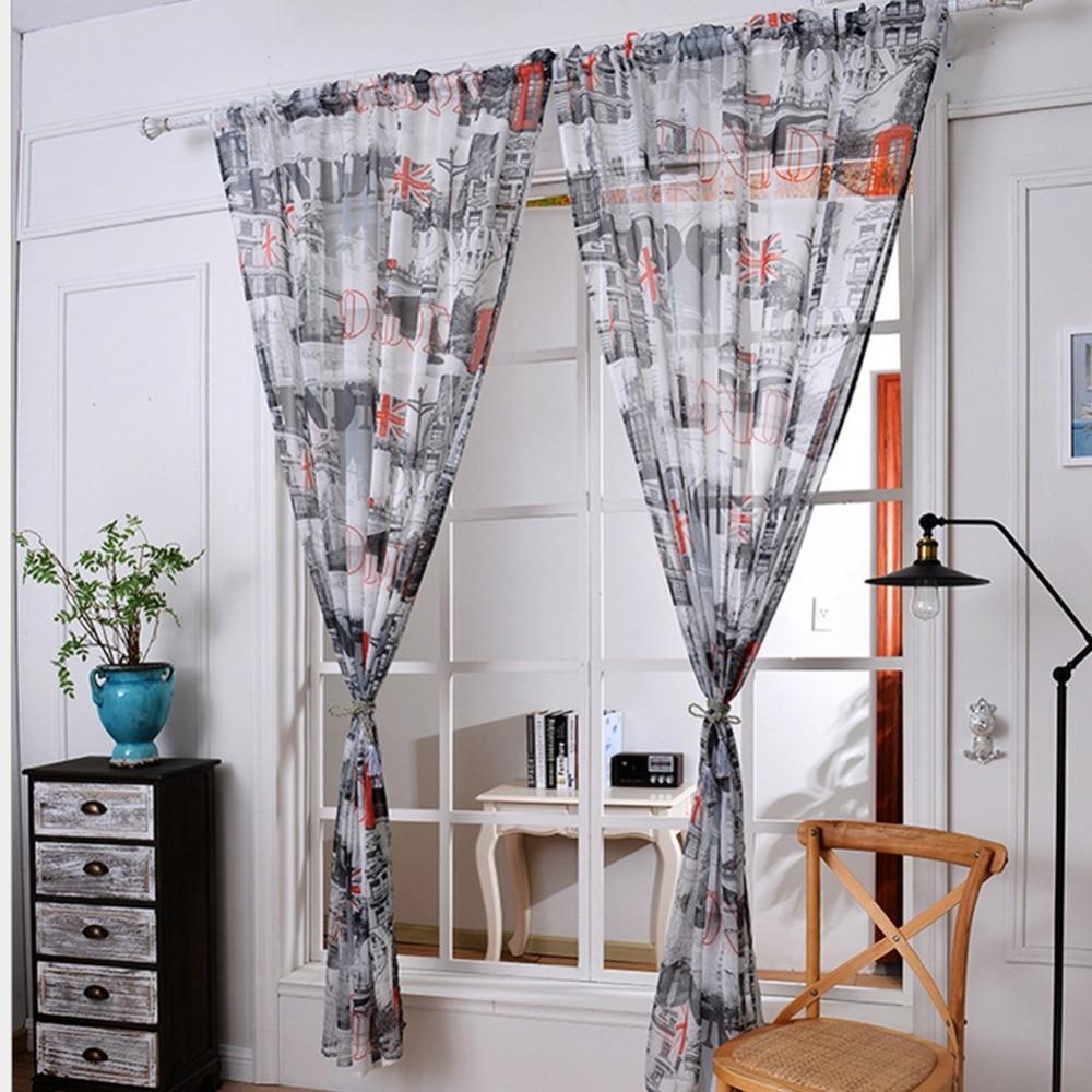 Printed Curtains Living Room Popular Retro Print Curtains Buy Cheap Retro Print Curtains Lots