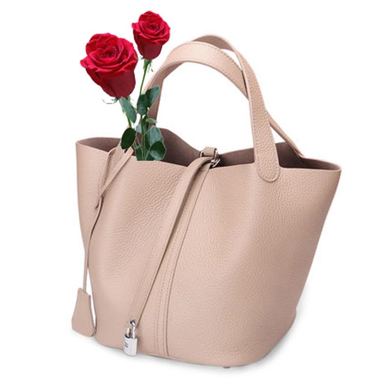 10 colors causal Small Hobos bags brand genuine leather handbag women small tote bag shoulder bags ladies classic serpentine