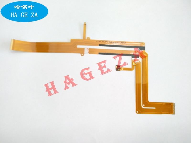 2pcs New LCD Flex Cable For Fujifilm Fuji HS50 EXR Digital Camera Repair Parts|Camera Flex Cables|Consumer Electronics -