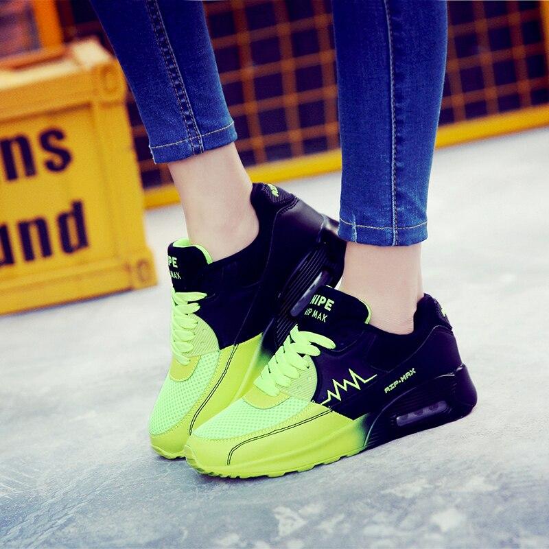 TOURSH Marca Más Nuevo 2017 zapatos de Verano Zapatos Corrientes Para Las Mujeres Cómodas Zapatillas de deporte de Los Hombres Zapatos Respirables Del Deporte Al Aire Libre Más El Tamaño 36-44
