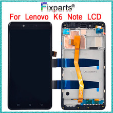 цены на For Lenovo K6 Note LCD Display Panel With Touch Screen Digitizer Assembly For lenovo K6 Note lcd  + tools  в интернет-магазинах