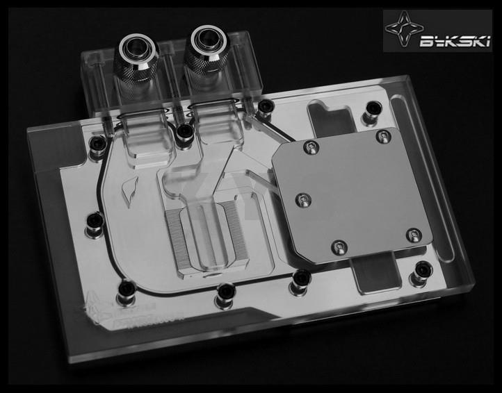 Bykski N-AS98EVO-X for ASUS GTX980 970 780 VGA Water Cooling Block galaxy gtx 780 hof