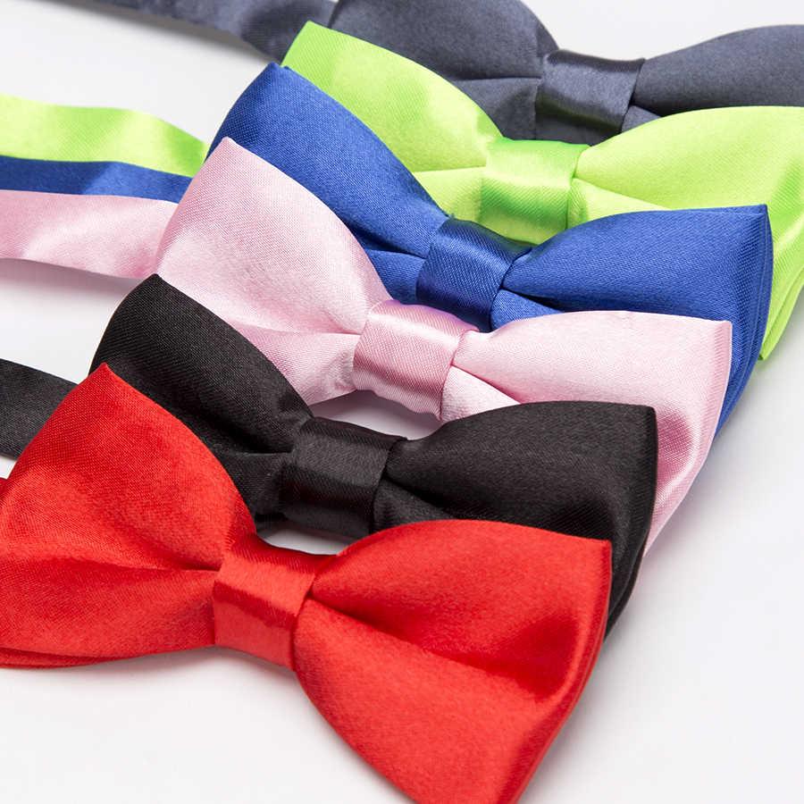 الأطفال ربطة القوس فيونكة الكلاسيكية طفل ربطة العنق الأولاد Grils العلاقات طفل الإكسسوارات بلون أخضر أحمر أسود أزرق الحيوانات الأليفة Cravate