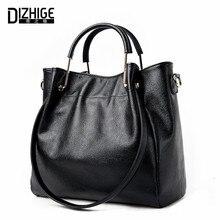 DIZHIGE Brand 2017 New Genuine Leather Bags Women High Quality Sheepskin Women Handbags Designer Shoulder Bags Ladies Sac Femme