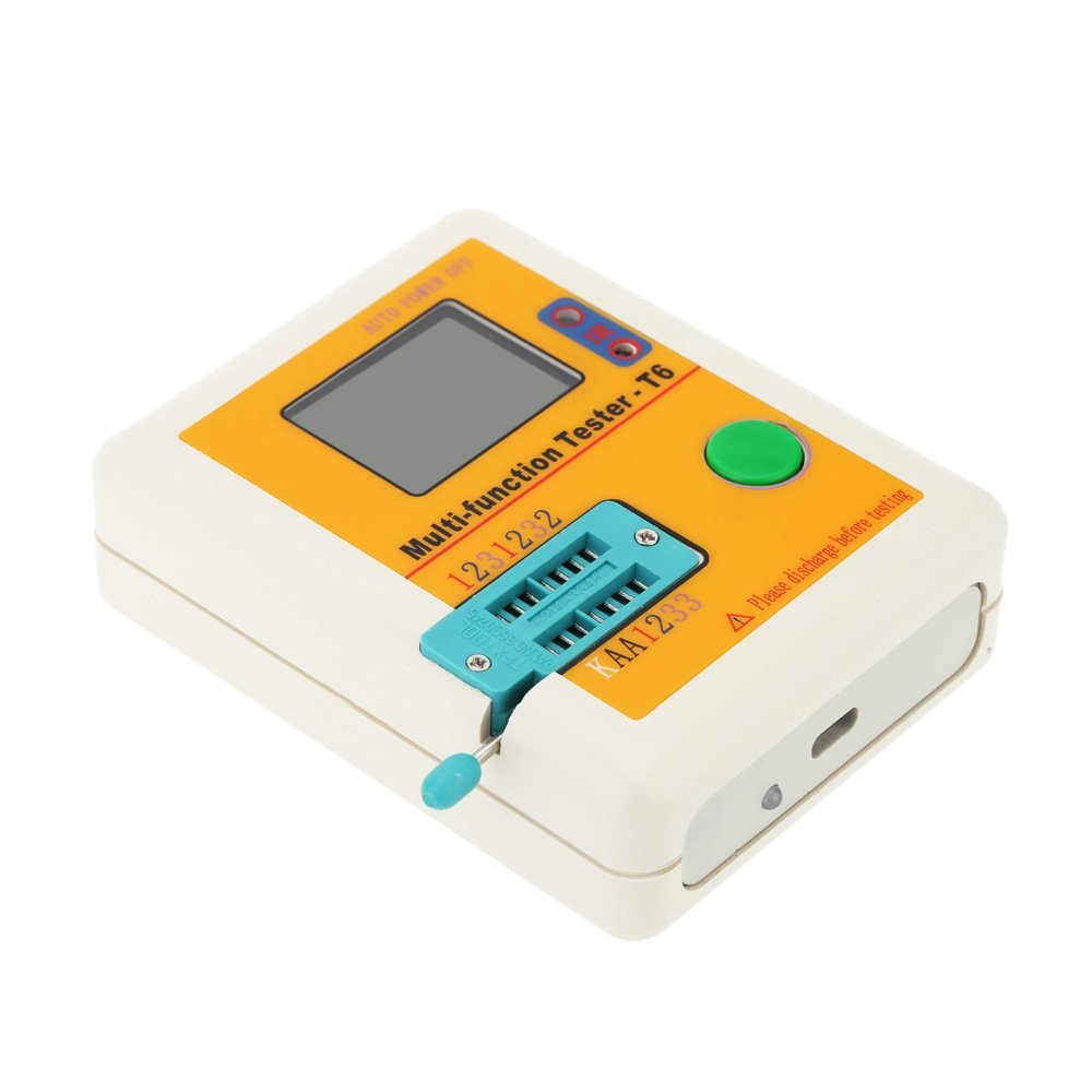 Hot Sale LCR-T6 Multi-functional Transistor Tester LCD Backlight ransistor Detector MOSFET NPN PNP Triac MOS Detector