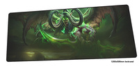 Illidan mouse pad gamer Colourful 120x50cm notbook mouse mat gaming mousepad large Gorgeous pad mouse PC desk padmouse