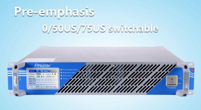 FSN-350A 350 W profesional FM excitador y emisión transmisor de Radio 87,5-108 MHz de la cubierta 15 KM-20 KM envío Gratis