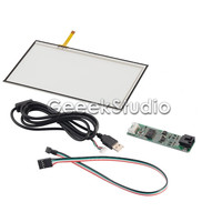 7 Inch 4 Wire Resistive LCD Touch Panel For AT070TN92 USB Port Touch Panel Controller Driver