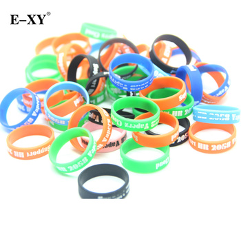 E-XY 500pcs E cig accessories silicone rubber band vape box mod ring decorative and protection Box mods Non Slip rubber rings