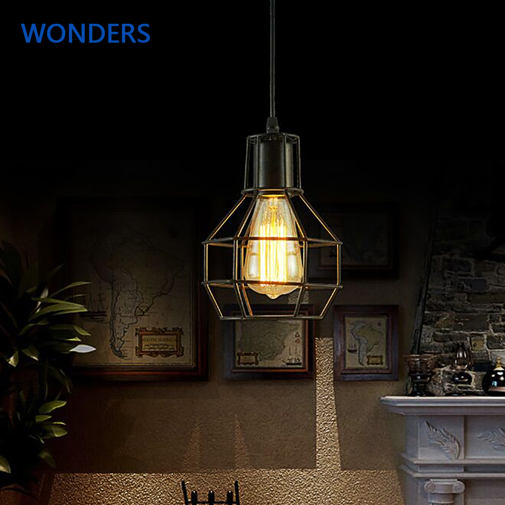 Nordic loft Pendant lamp lampshade modern creative pendant lights home industrial lighting iron lampshade Bar Cafe RestaurantsNordic loft Pendant lamp lampshade modern creative pendant lights home industrial lighting iron lampshade Bar Cafe Restaurants