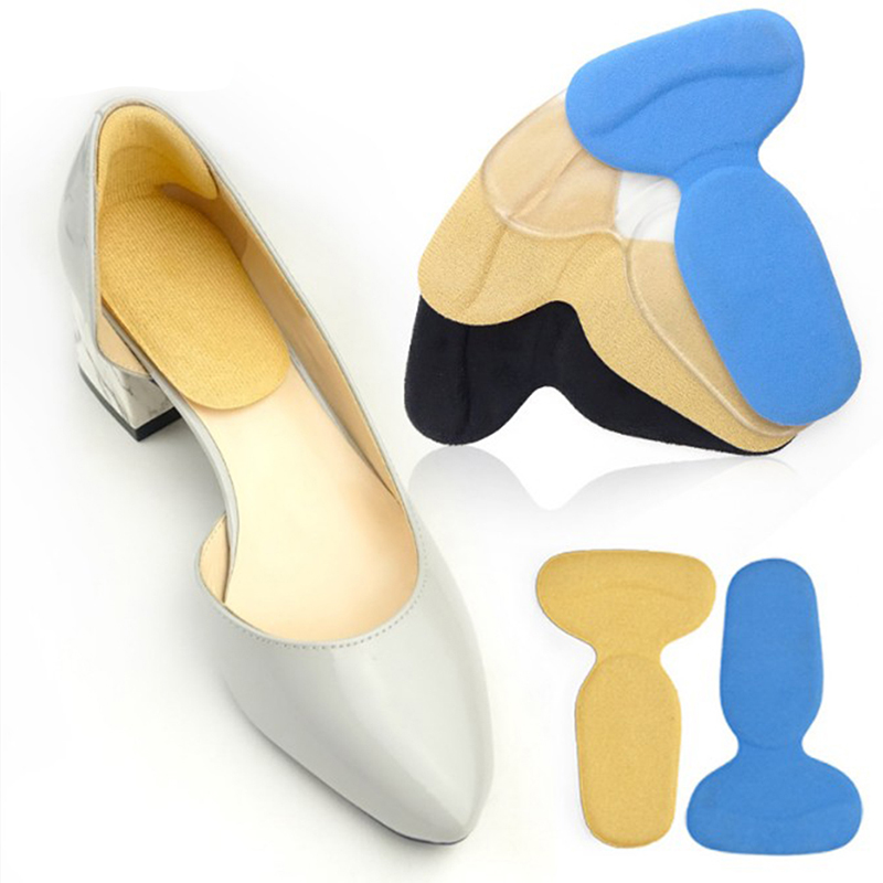 1Pair Soft T-Shape High Heel Grips Liner Arch Support Orthotic Shoes Insert Insoles Cushion Pads Foot Protector image