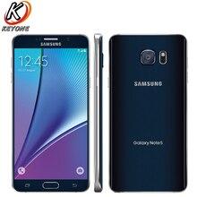 """Оригинал AT & T версия Samsung Galaxy Note 5 Note5 N920A 4 г LTE мобильный телефон Octa Core 5.7 """"16MP Оперативная память 4 ГБ Встроенная память 32 ГБ телефон"""
