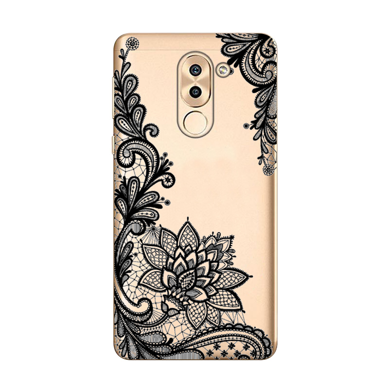 For Bag Huawei Honor 6X Case Cover TPU Soft Silicone Phone Case Mate 9 Lite Case For Huawei Honor 6X 6 X Cover
