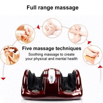 Masseur électrique De Jambe Machine De Massage Des Pieds Shiatsu Pétrissage Rouleau Vibrateur Machine Libération Musculaire Thérapie Rouleaux Shiatsu