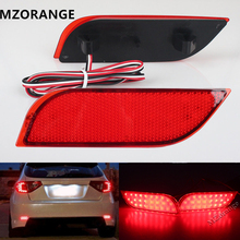 цена на 2Pcs Backup Tail Light Rear Bumper Lamp For Subaru /Impreza/XV/WRX/LEVORG/Crossover LED Reflector stop Brake light fog lamp