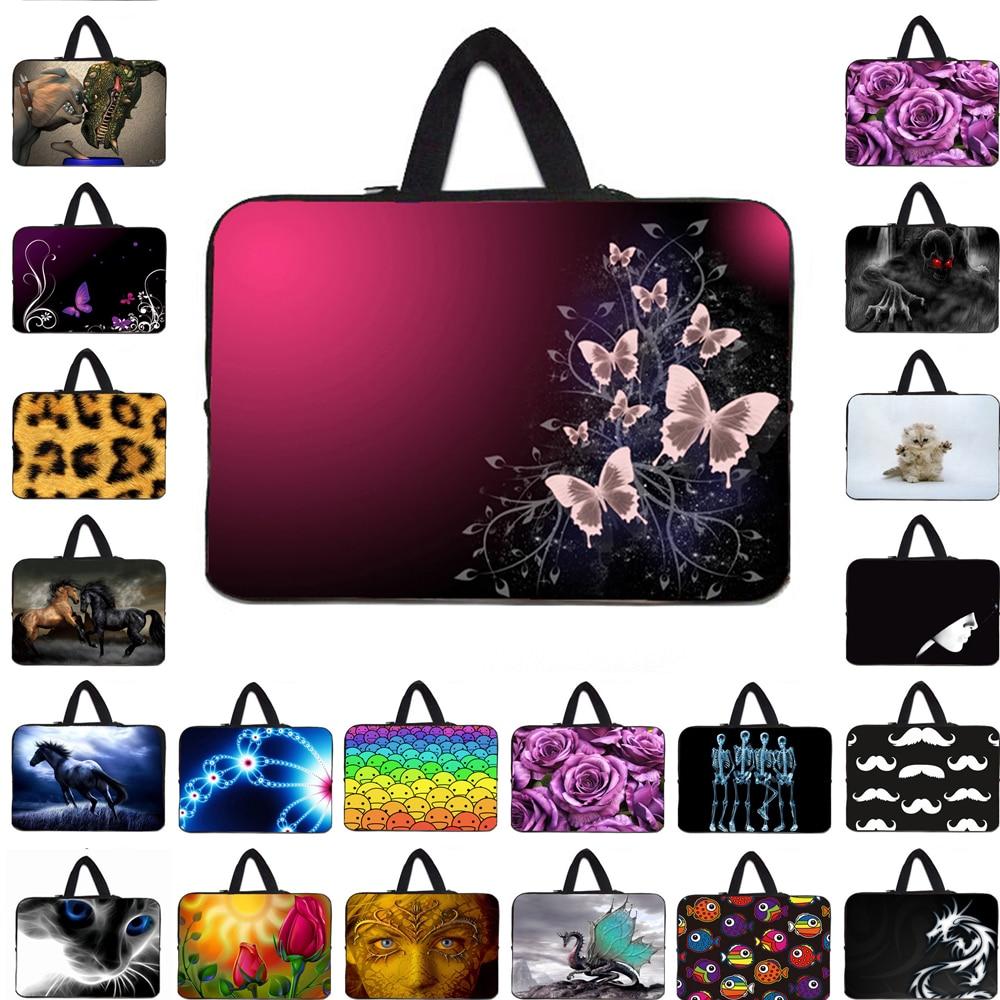 Wonderful Neoprene 10 12 13 13.3 14 15.4 15 17 Laptop Sleeve Bag Notebook Carry Cover Cases Pouch For Lenovo Yoga Thinkpad 11 13