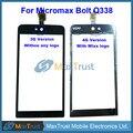 """Top Quality 3G E 4G Versão 5.0 """"para micromax bolt q338 touch screen digitador sensor de vidro substituição preto frete grátis"""