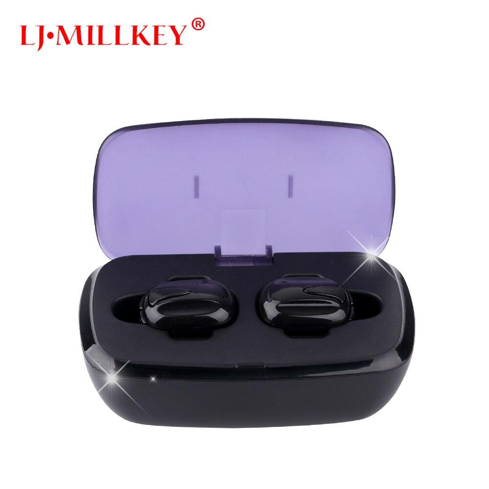 TWS 4.2 true wireless earbuds handsfree micro earpiece noise canceling headset stereo ear bluetooth earphone phone YZ185