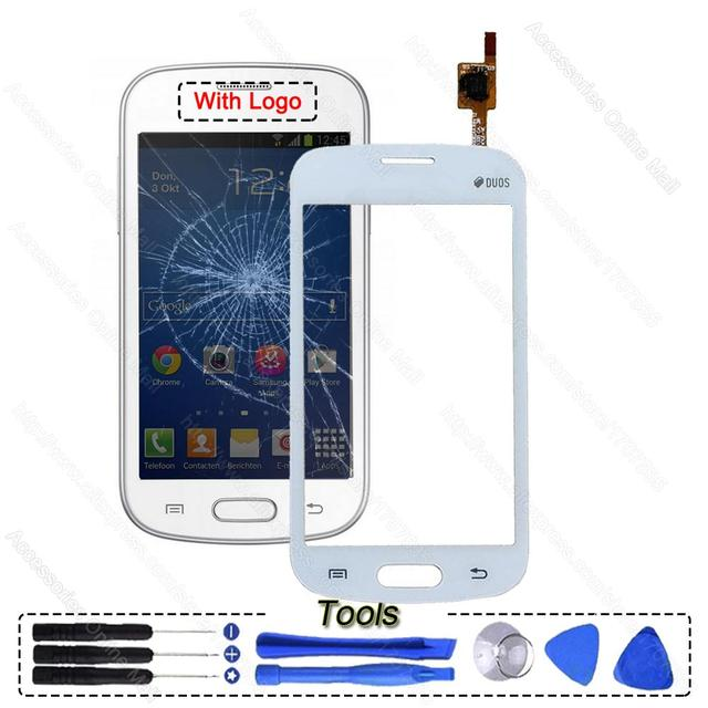 Original Touch Screen Glass Panel Lens Digitizer For Samsung Galaxy Fresh Duos S7390 S7392 GT-S7390 Repair Parts