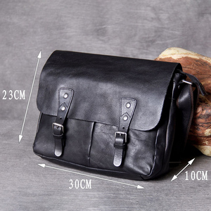 Image 5 - AETOO คลาสสิกหัว cowhide ชาย Postman Bag กระเป๋าหนังไหล่ Crossbody กระเป๋า
