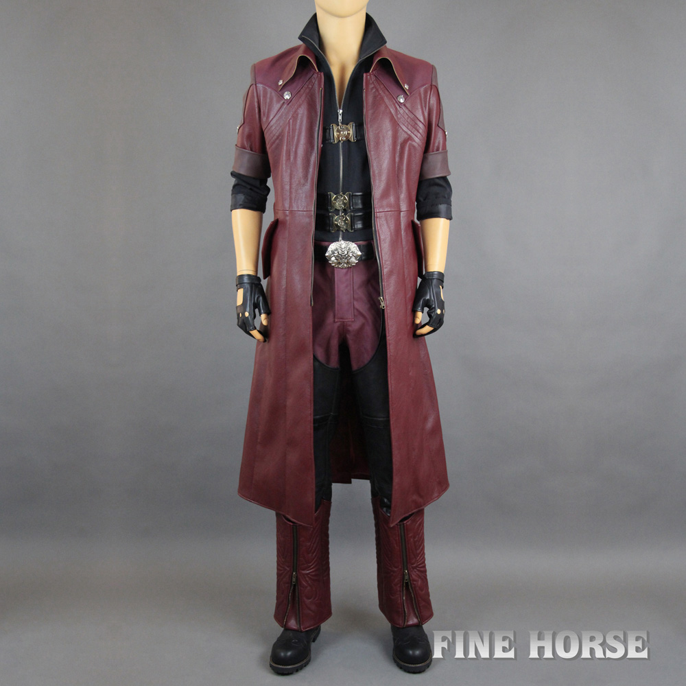 Devil May Cry 4 Devil May Cry Dante Cosplay Film DX Set