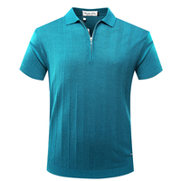 BILLIONAIRE TACE&SHARK T shirt men Short 2018 summer new style turn down collar fashion high quality various size free shipping