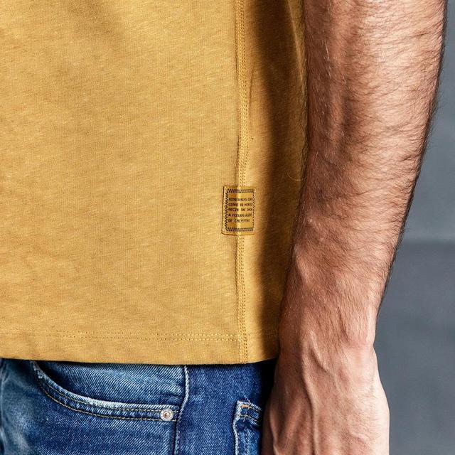Men's Slim Fit T-shirts 100% Colored Cotton Crew Neck