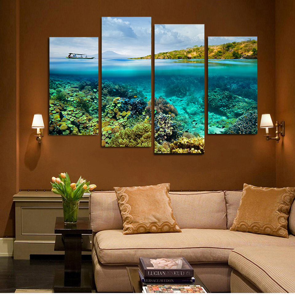 Coral Reef Paint Color Online Get Cheap Coral Reef Art Aliexpresscom Alibaba Group