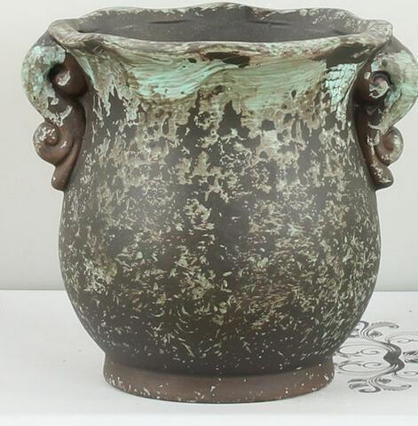 Top Quality Ceramic Flowerpots Desk Small Planters Succulent Plants Flower Pots Retro Pure Handmade Gardening Pots ZH004