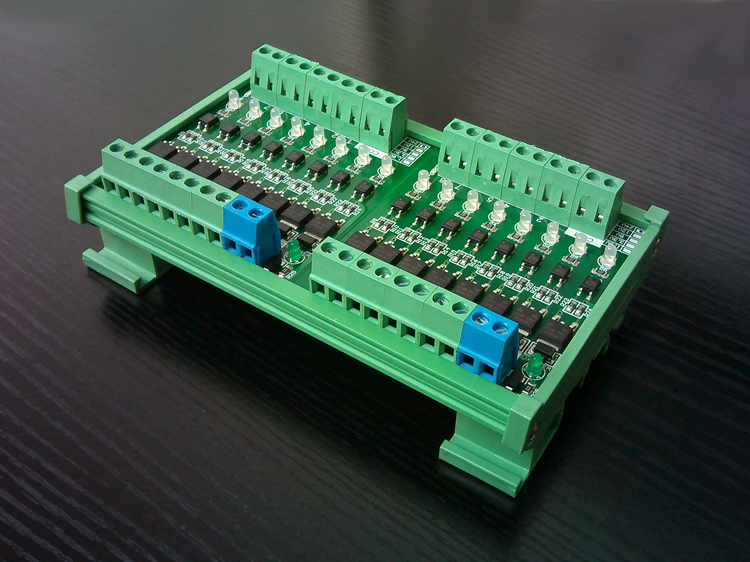 цена на 16 Way Input Fully Compatible NPN Output MITSUBISHI SIEMENS PLC Power Amplifier Solenoid Drive Board