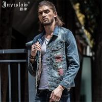 2016 New Denim Jacket Men Outerwear Long Sleeve Vintage Mens Jacket And Coats Spring Autumn Jeans