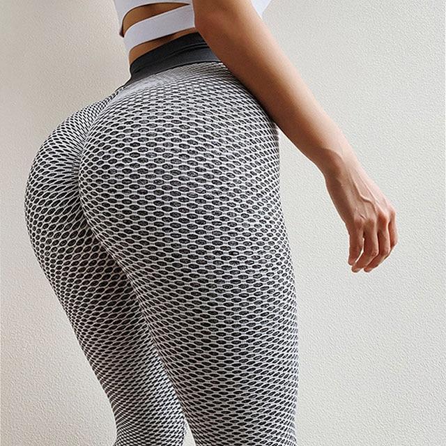 NORMOV Seamless Fitness Women Leggings Fashion Patchwork Print High Waist Elastic Push Up Ankle Length Polyester Leggings 7