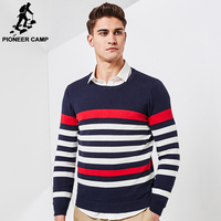 Pioneer Camp New Spring Sweater Men Brand Clothing Fashion Male Pullover Top Quality Striped Knitted Sweater