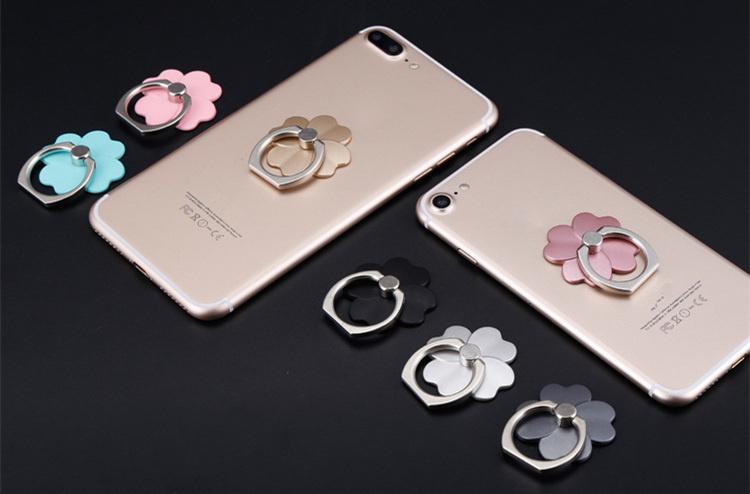 360 Stopni Palec Serdeczny Mobile Phone Smartphone Uchwyt Stojak Na iPhone 7 plus Samsung HUAWEI Smart Phone IPAD MP3 Samochodu Zamontować stojak 2