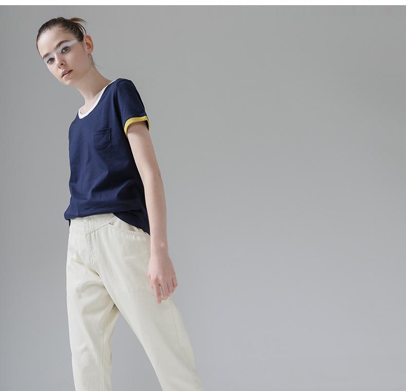 HTB1Vlk5PpXXXXcrXpXXq6xXFXXXB - T Shirt Women Short Sleeve O-Neck Cotton